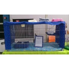 Rideaux pour cages d'exposition