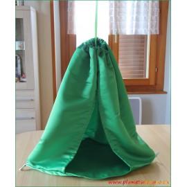 Petite tente d'expo verte