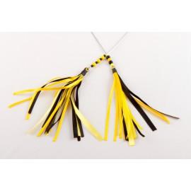 Plumet - Noir/jaune