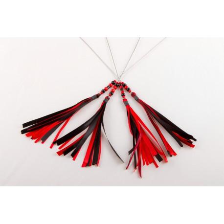 Plumet - Noir/rouge