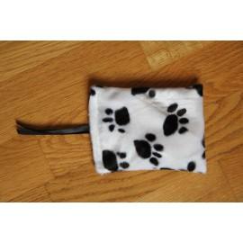 Coussin au catnip - moyen - pattes de chats noir-blanc