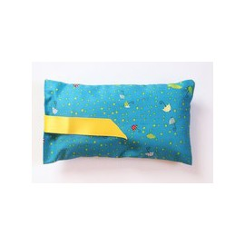Coussin au catnip - grand - parapluies bleu